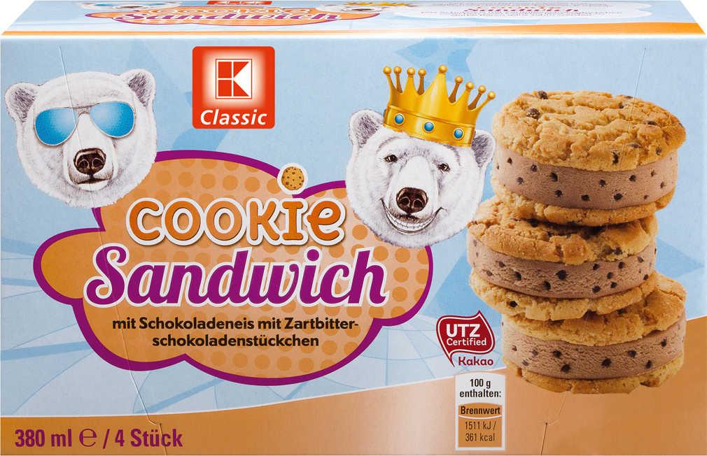 Abbildung des Angebots K-CLASSIC Cookie-Sandwich