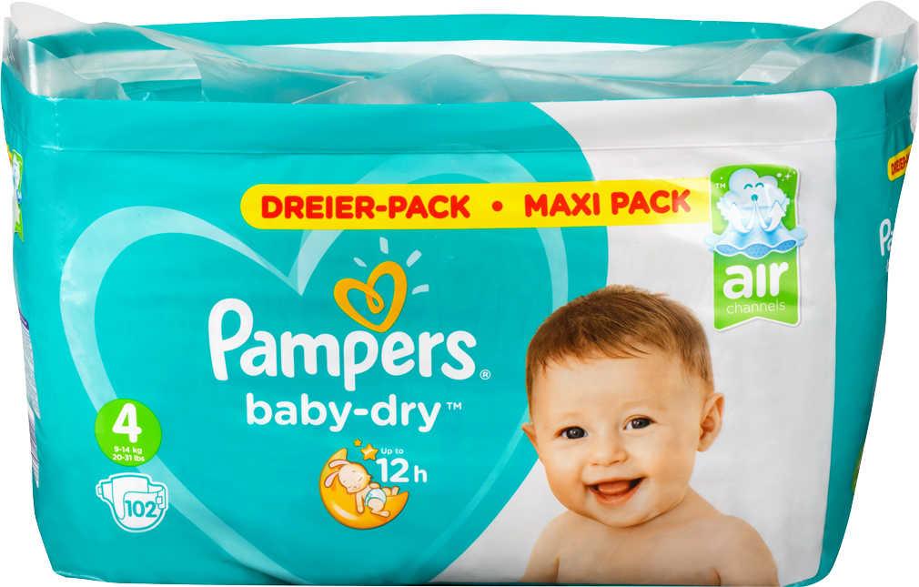 Abbildung des Angebots PAMPERS Baby Dry Windeln