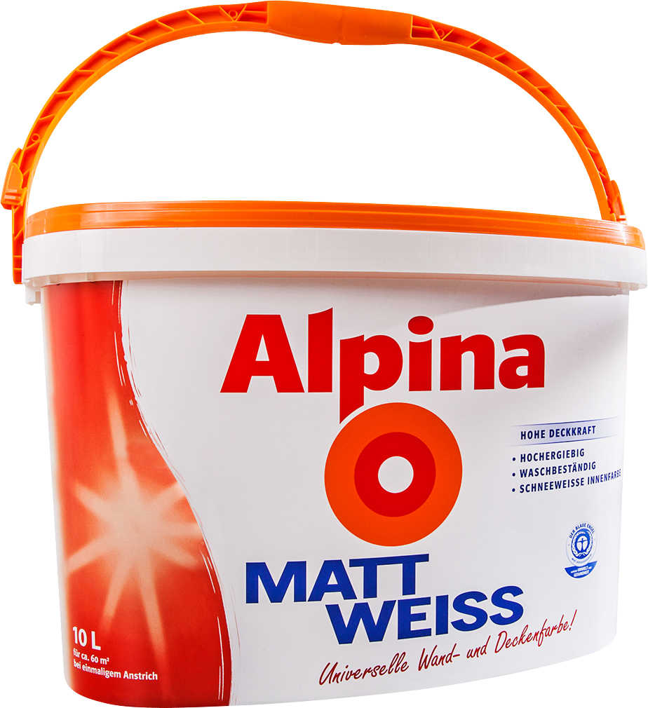 Abbildung des Angebots ALPINA Wandfarbe Mattweiß