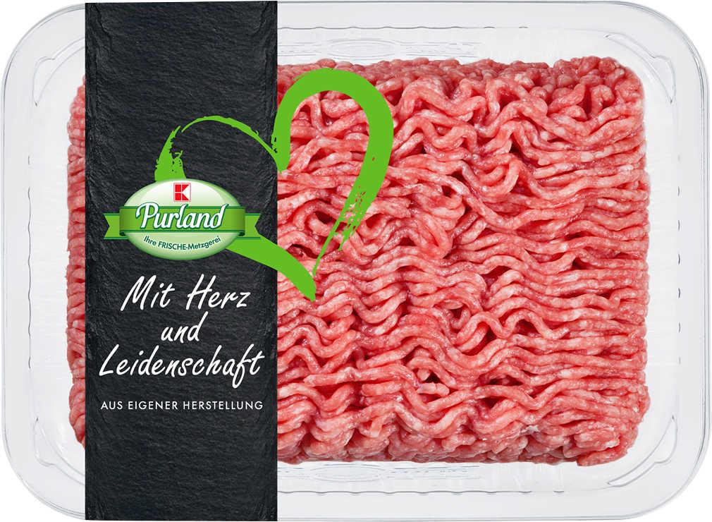 Abbildung des Angebots K-PURLAND Rinderhackfleisch vom Simmentaler Rind