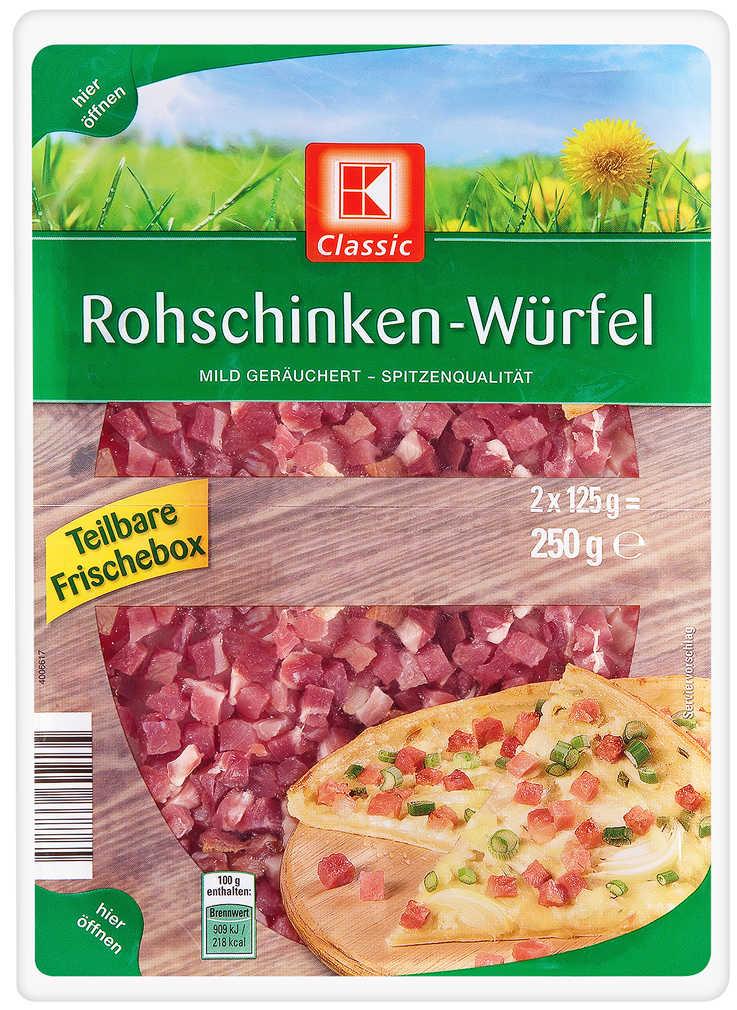 Abbildung des Angebots K-CLASSIC Rohschinken-Würfel
