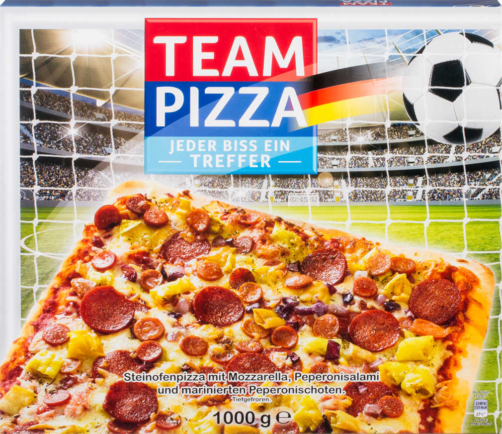 Abbildung des Angebots MANTUA Team Pizza