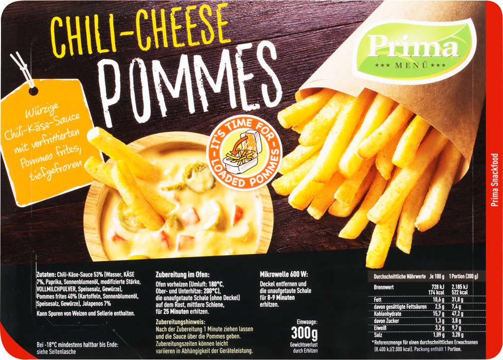Abbildung des Angebots PRIMA MENÜ Loaded Pommes Tex Mex oder Chili-Cheese