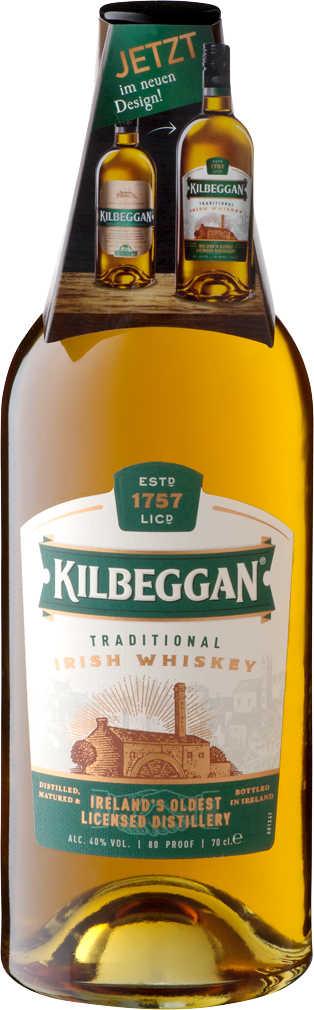 Abbildung des Angebots KILBEGGAN Traditional Irish Whiskey