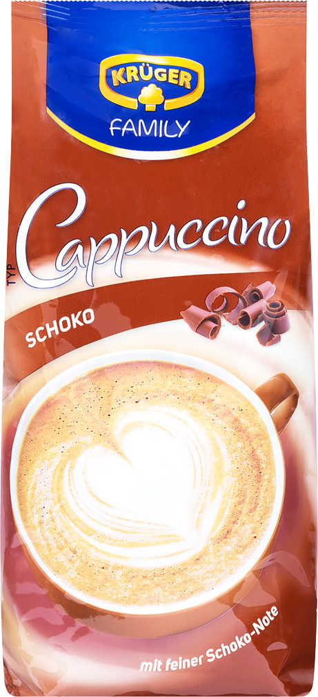 Abbildung des Angebots KRÜGER Family Cappuccino oder Latte Macchiato