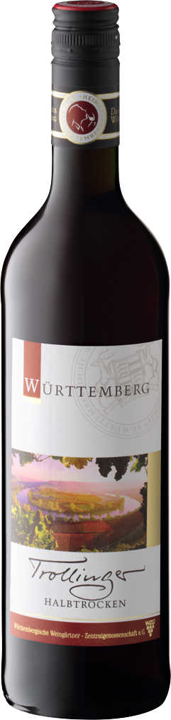Abbildung des Angebots WZG MÖGLINGEN Württemberger Trollinger halbtrocken