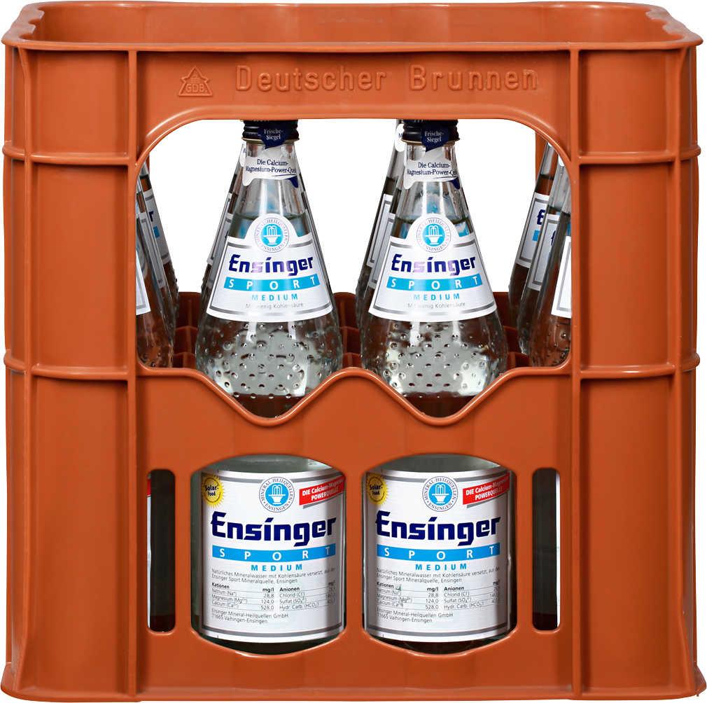 Abbildung des Angebots ENSINGER Mineralwasser