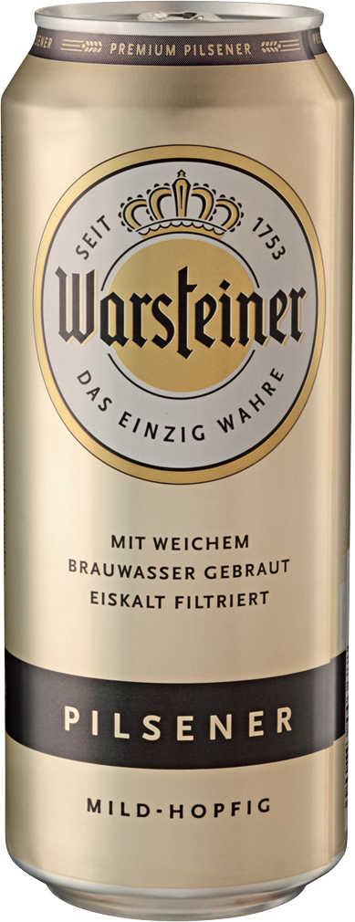 Abbildung des Angebots WARSTEINER Premium Pilsener oder Radler