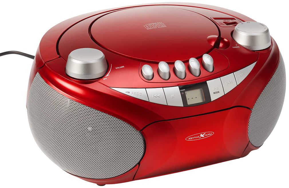 Abbildung des Angebots REFLEXION CD-Radio »RCR4655RD«