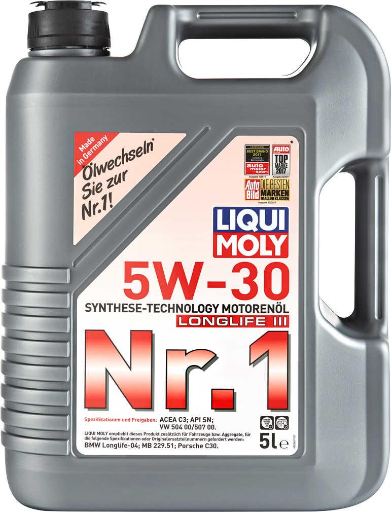 Abbildung des Angebots LIQUI MOLY Motorenöl Nr. 1 »5W-30« Longlife III