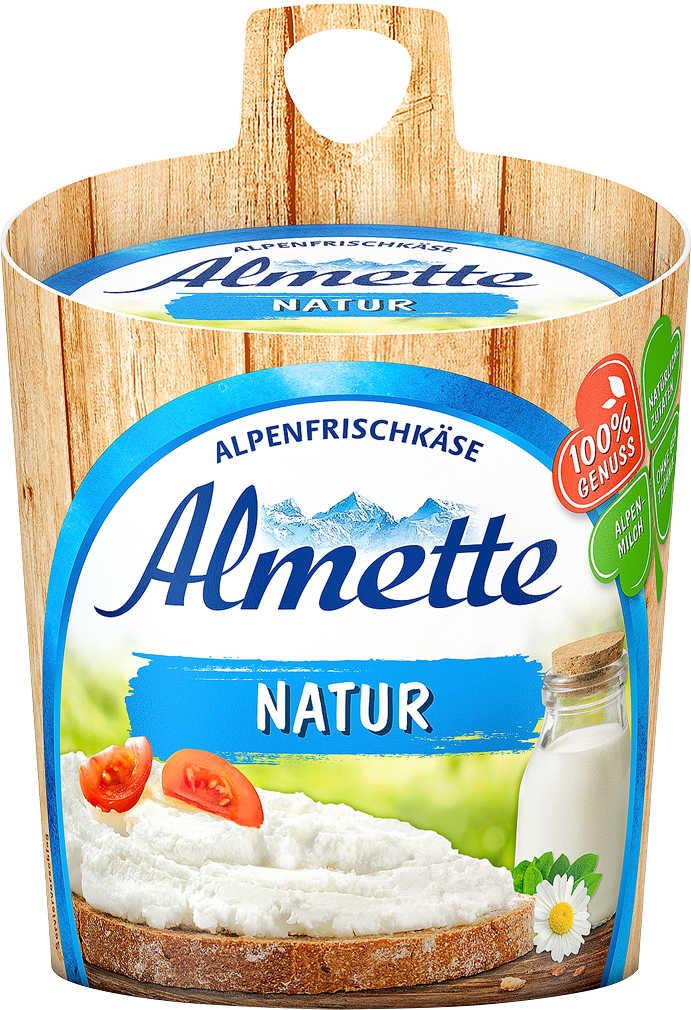 Abbildung des Angebots ALMETTE Alpenfrischkäse