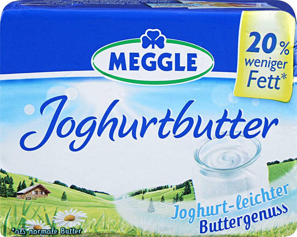 Abbildung des Angebots MEGGLE Joghurt- oder Alpenbutter