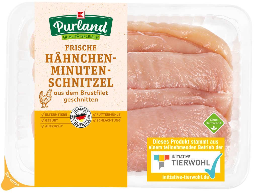 Abbildung des Angebots K-PURLAND Hähnchen-Schnitzel à la minute
