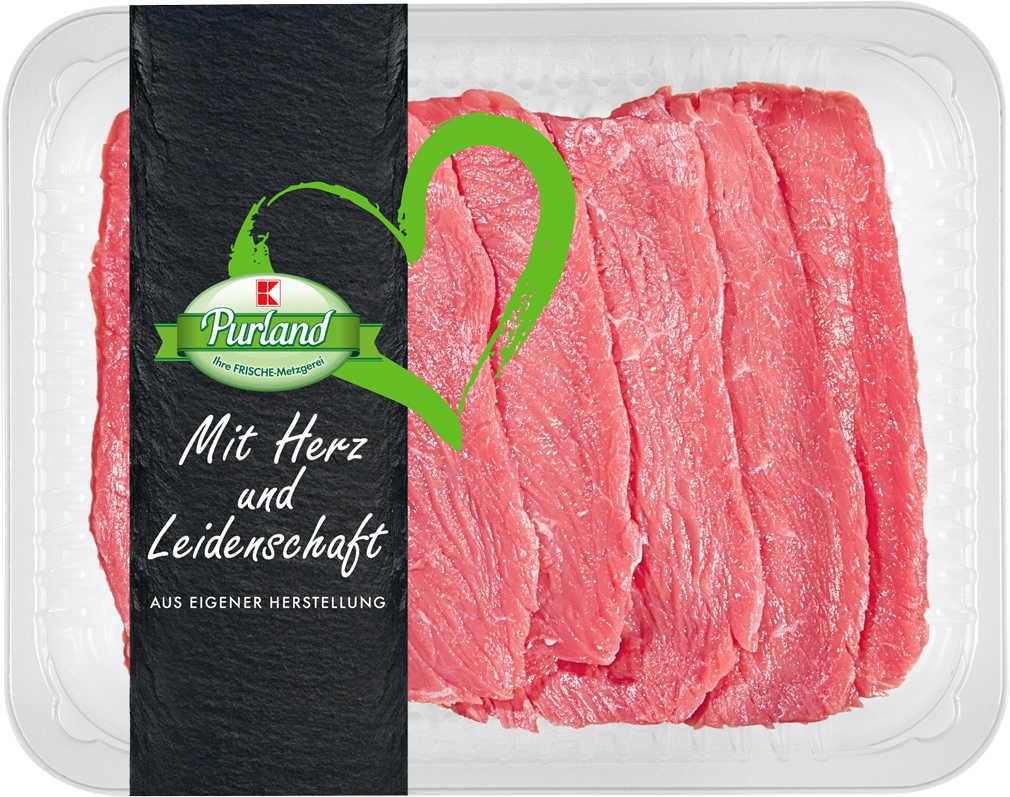 Abbildung des Angebots K-PURLAND Rinderminutensteak vom Simmentaler Rind