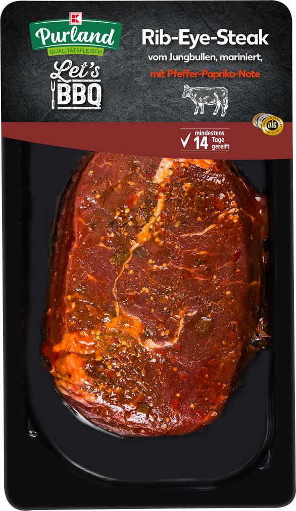 Abbildung des Angebots K-PURLAND Rib-Eye-Steak