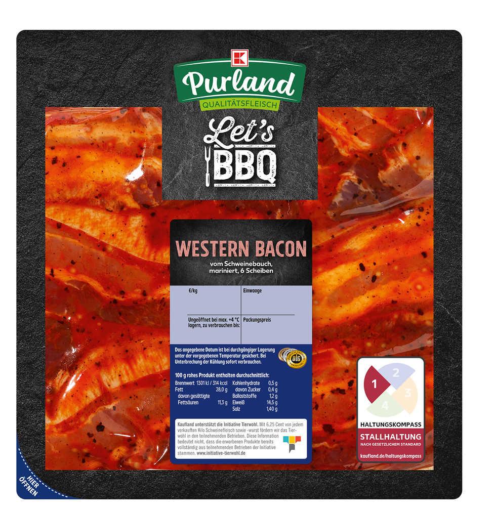 Abbildung des Angebots K-PURLAND Western Bacon