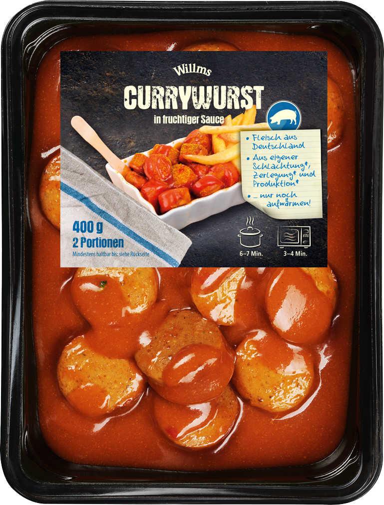 Abbildung des Angebots WILLMS Currywurst