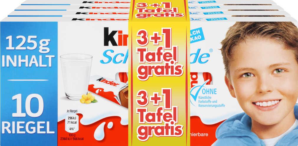 Abbildung des Angebots FERRERO Kinder Schokolade oder Yogurette