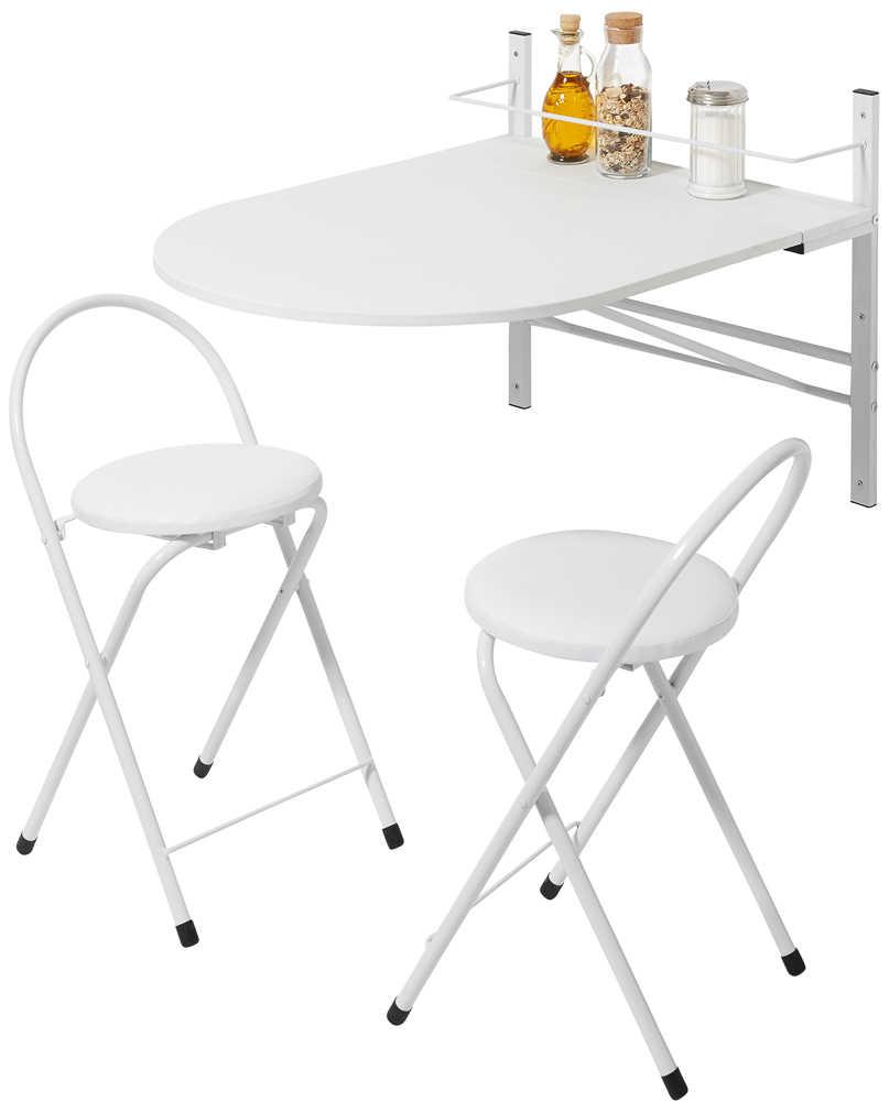 Abbildung des Angebots Küchenbar mit 2 Stühlen