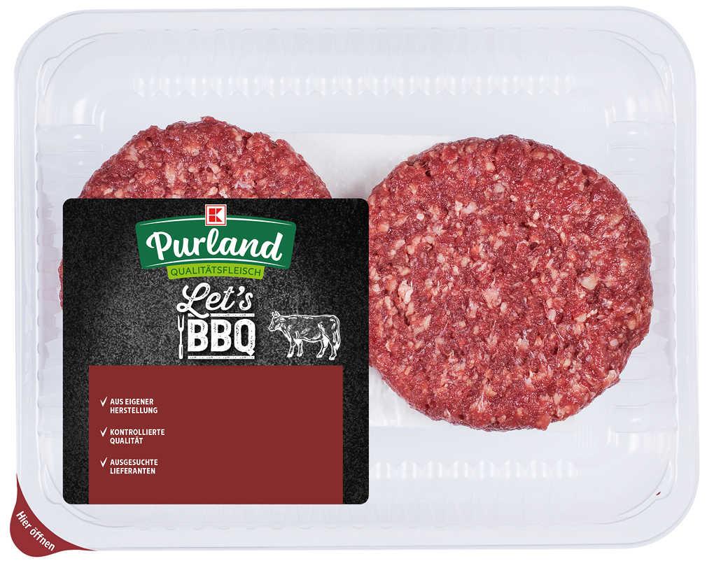 Abbildung des Angebots K-PURLAND Steakburger vom Rind