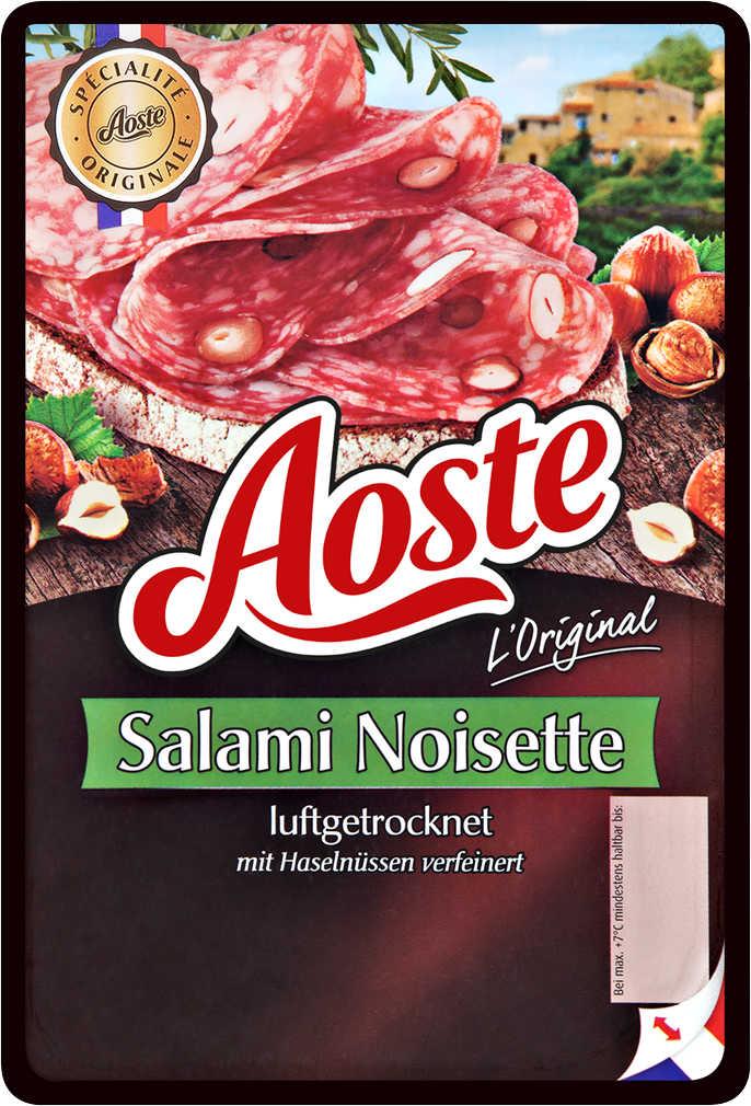 Abbildung des Angebots AOSTE Salami Noisette od. Baguette-Salami