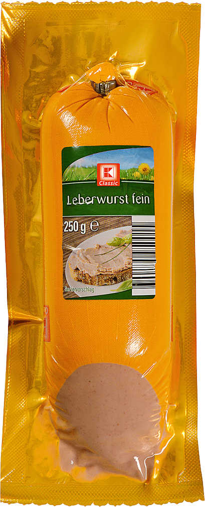 Abbildung des Angebots K-CLASSIC Delikatess Leberwurst