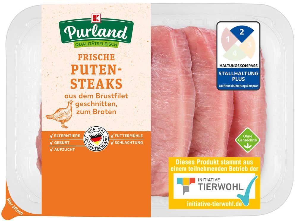 Abbildung des Angebots K-PURLAND Puten-Steaks