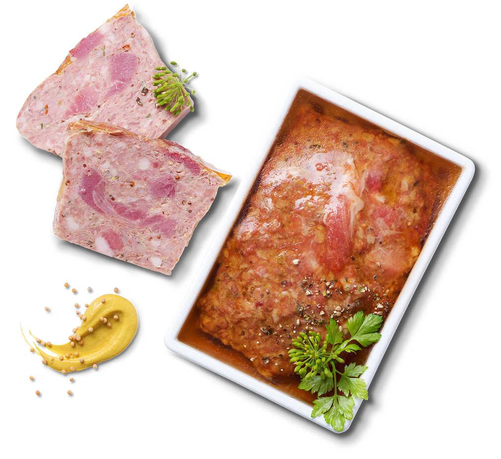 Abbildung des Angebots Kaninchenpastete mit Dijon-Senf