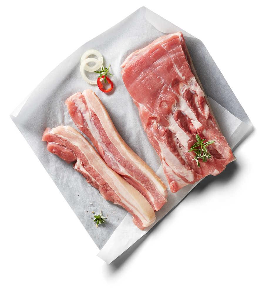 Abbildung des Angebots Schweinebauch ohne Knochen