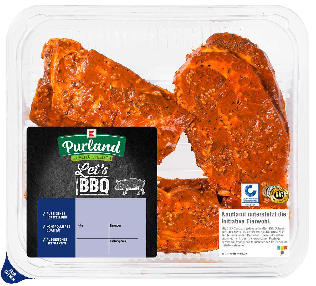Abbildung des Angebots K-PURLAND Grill-Mix
