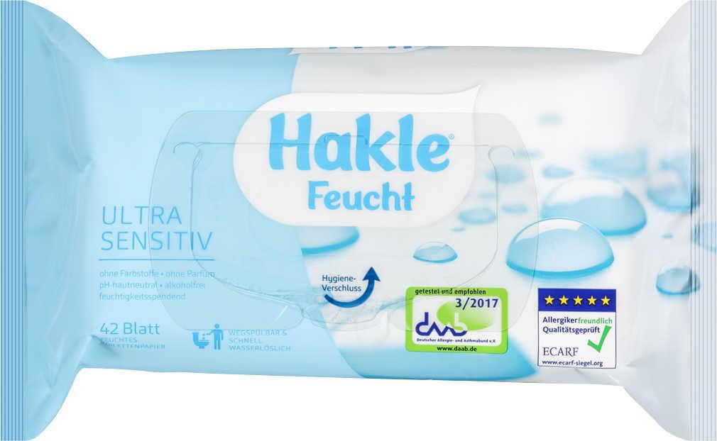 Abbildung des Angebots HAKLE feuchtes Toilettenpapier