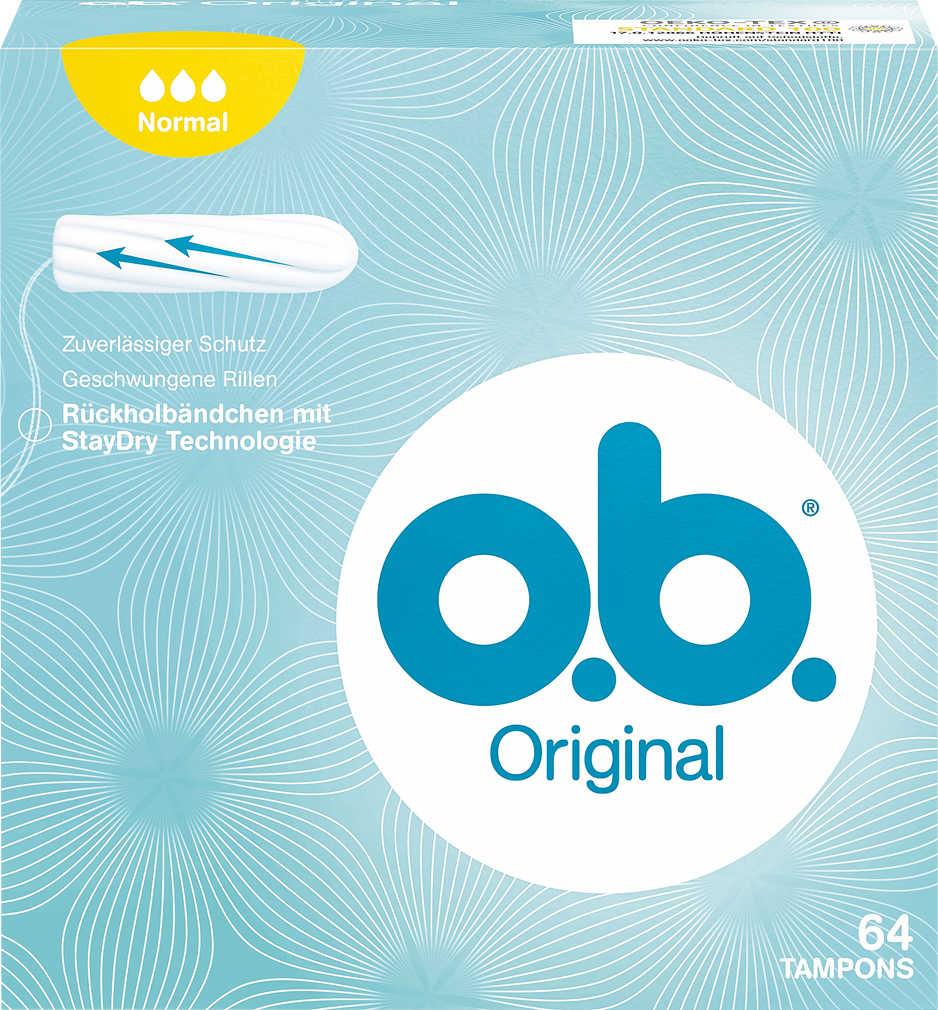 Abbildung des Angebots O.B. Tampons