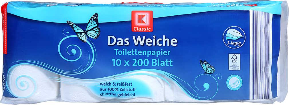 Abbildung des Angebots K-CLASSIC Das Weiche Toilettenpapier