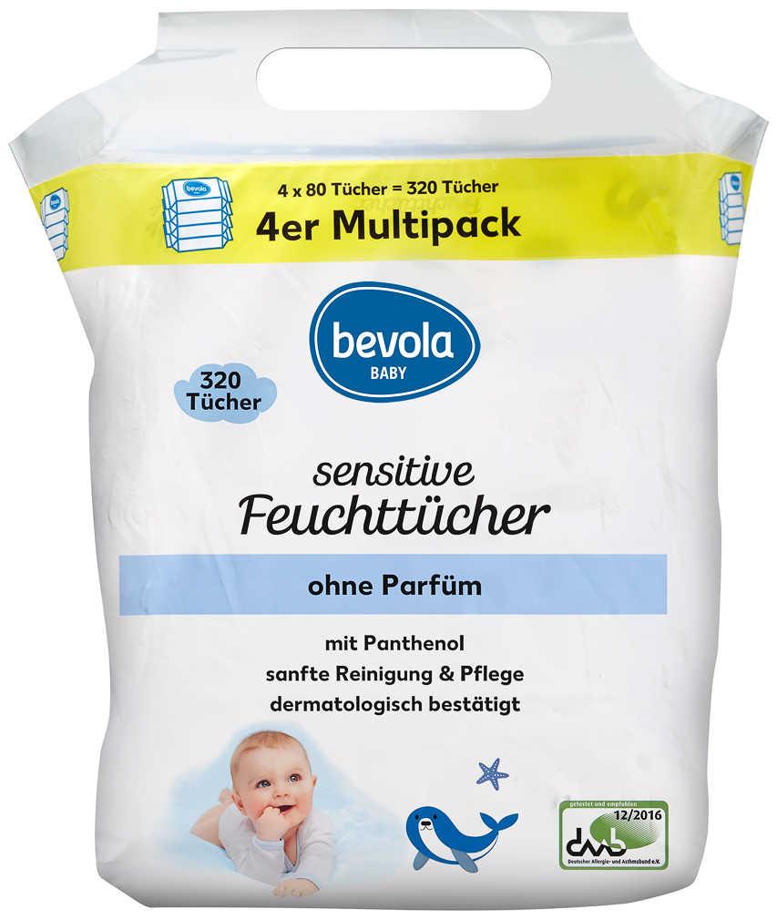 Abbildung des Angebots BEVOLA Baby Feuchttücher