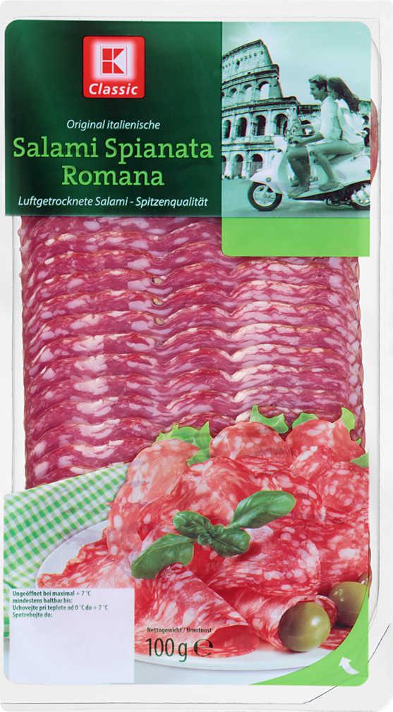 Abbildung des Angebots K-CLASSIC Salami Spianata Romana