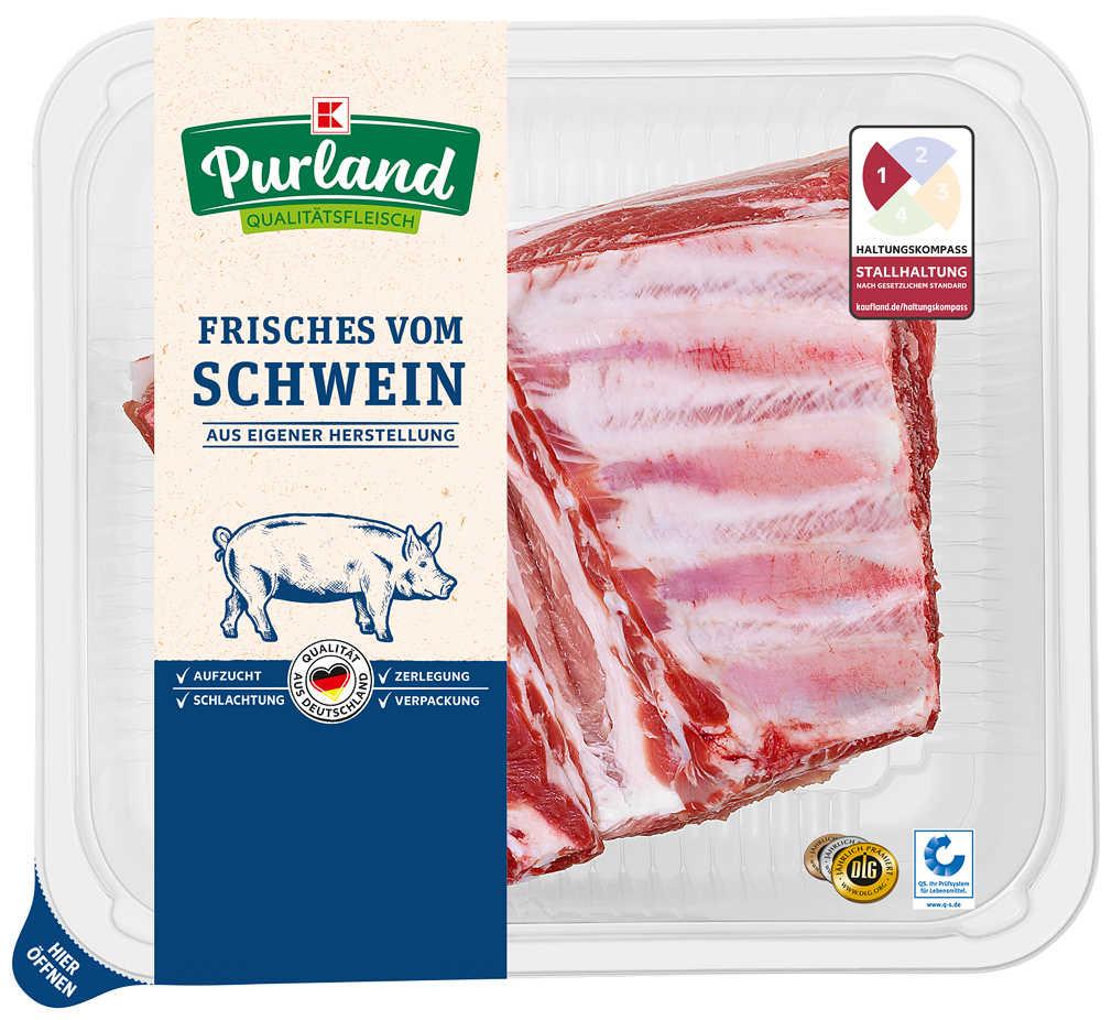 Abbildung des Angebots K-PURLAND Brustspitze vom Schwein