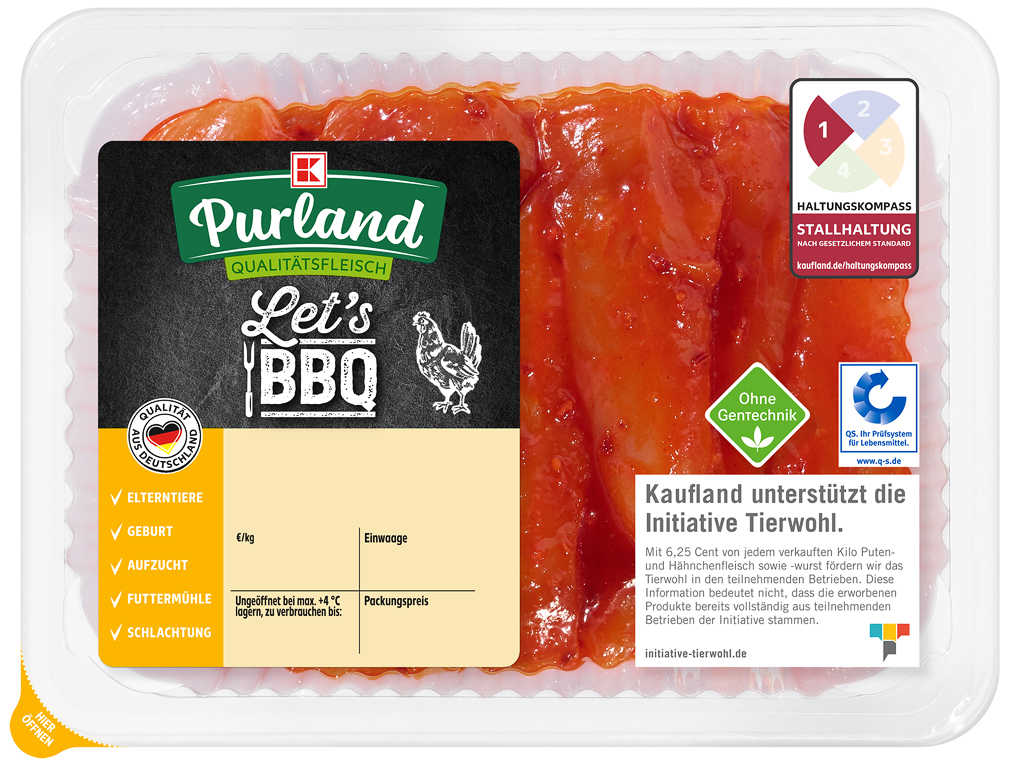 Abbildung des Angebots K-PURLAND Hähnchen-Innenfilet