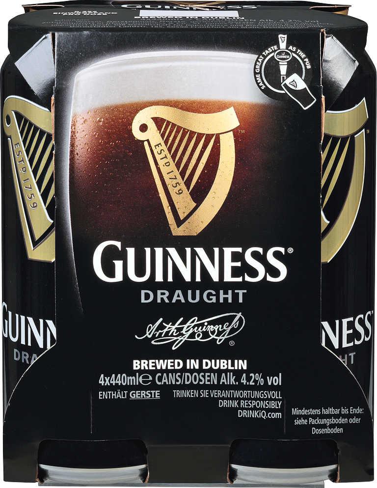 Abbildung des Angebots GUINNESS Draught Irisches Bier