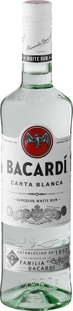 Abbildung des Angebots BACARDI Carta Blanca oder Negra Superior White / Black Rum