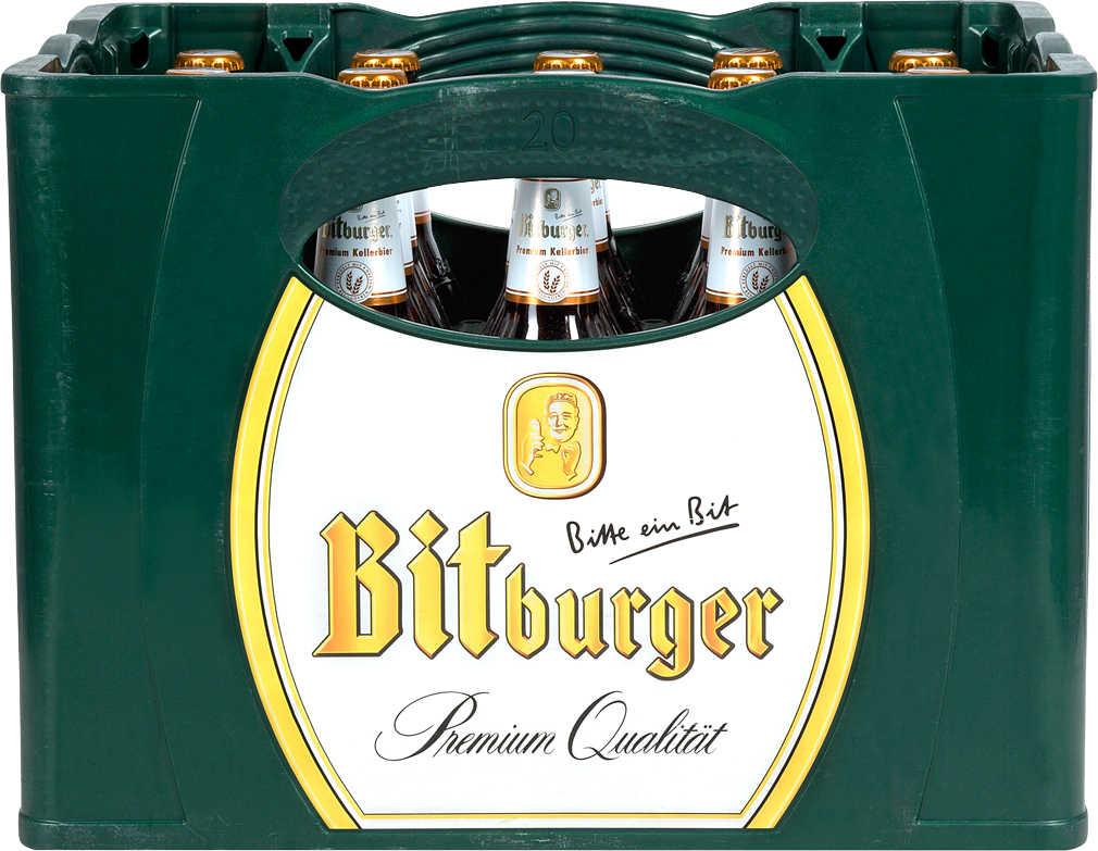 Abbildung des Angebots BITBURGER Premium Pils oder Kellerbier