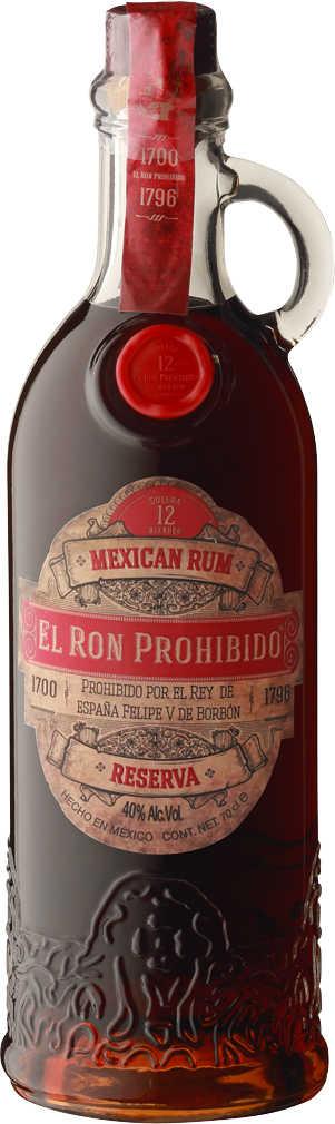 Abbildung des Angebots EL RON PROHIBIDO Solera Blended Mexican Rum 12 Jahre