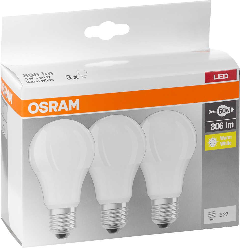 Abbildung des Angebots OSRAM LED-Birnen E27 CLA60