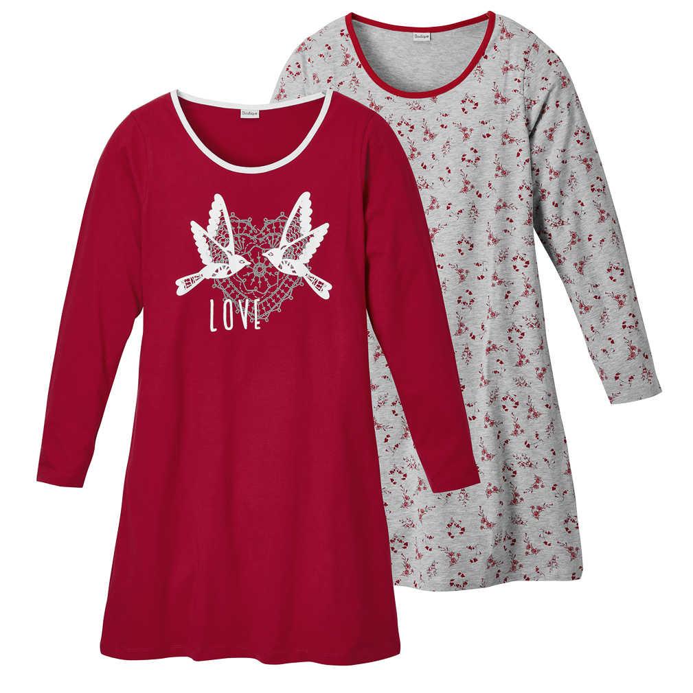 Abbildung des Angebots K-CLASSIC Damen-Schlafshirt