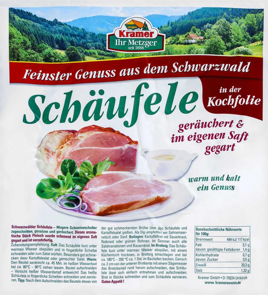 Abbildung des Angebots KRAMER Schwarzwälder Schäufele
