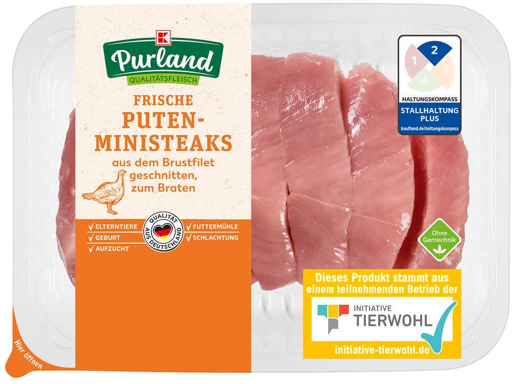 Abbildung des Angebots K-PURLAND Puten-Mini-Steaks