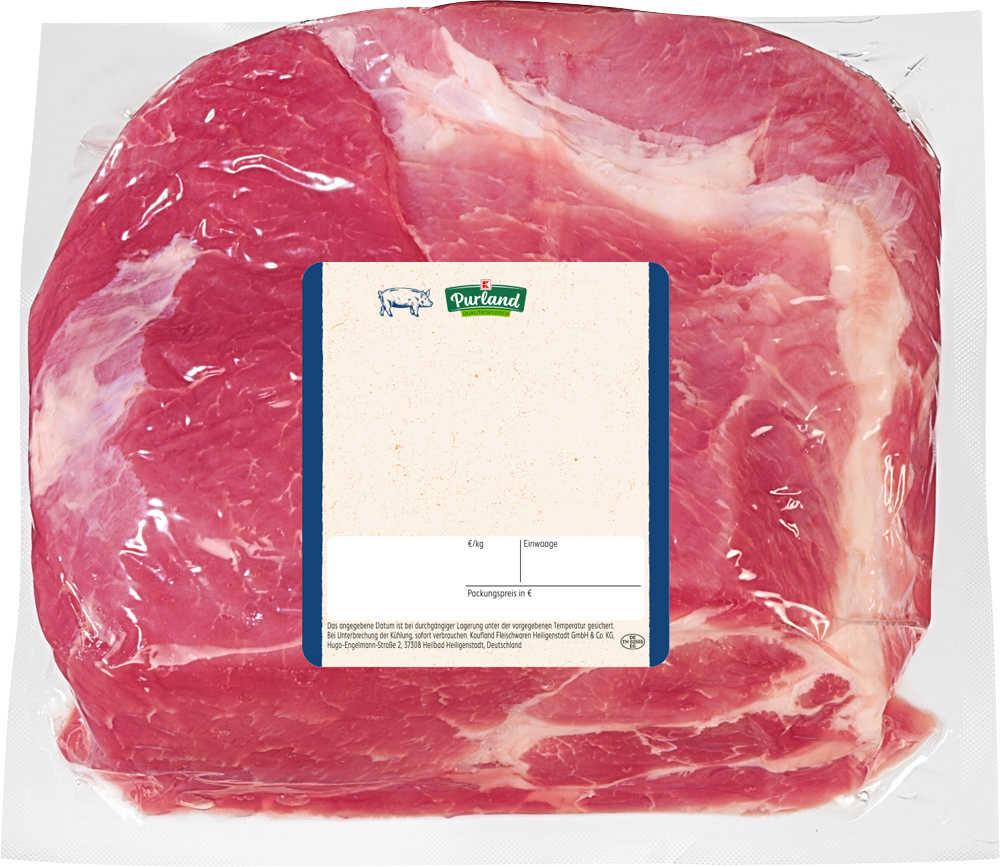 Abbildung des Angebots K-PURLAND Schweinenacken gepökelt