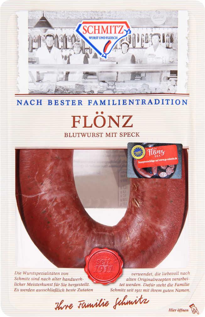 Abbildung des Angebots SCHMITZ Flönz Blutwurst mit Speck