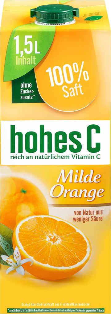 Abbildung des Angebots HOHES C