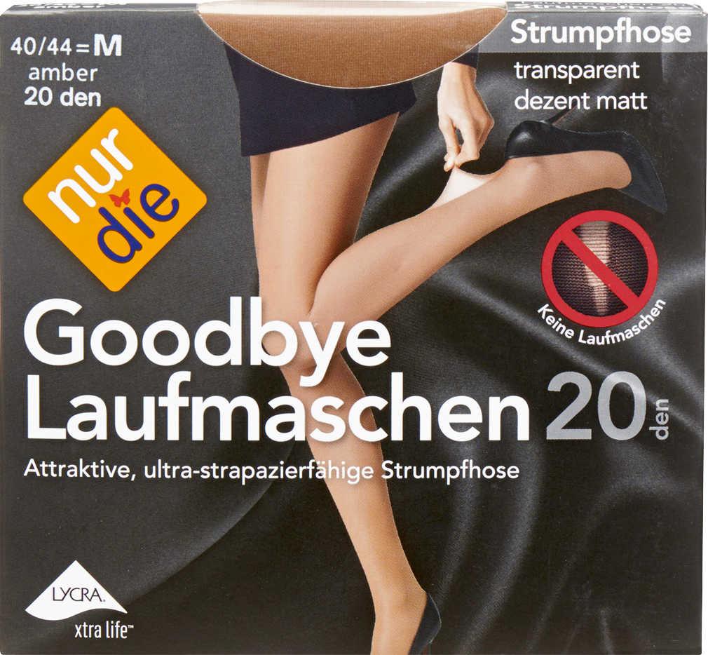 Abbildung des Angebots NUR DIE Damen-Strumpfhose 20 DEN »Goodbye Laufmaschen«
