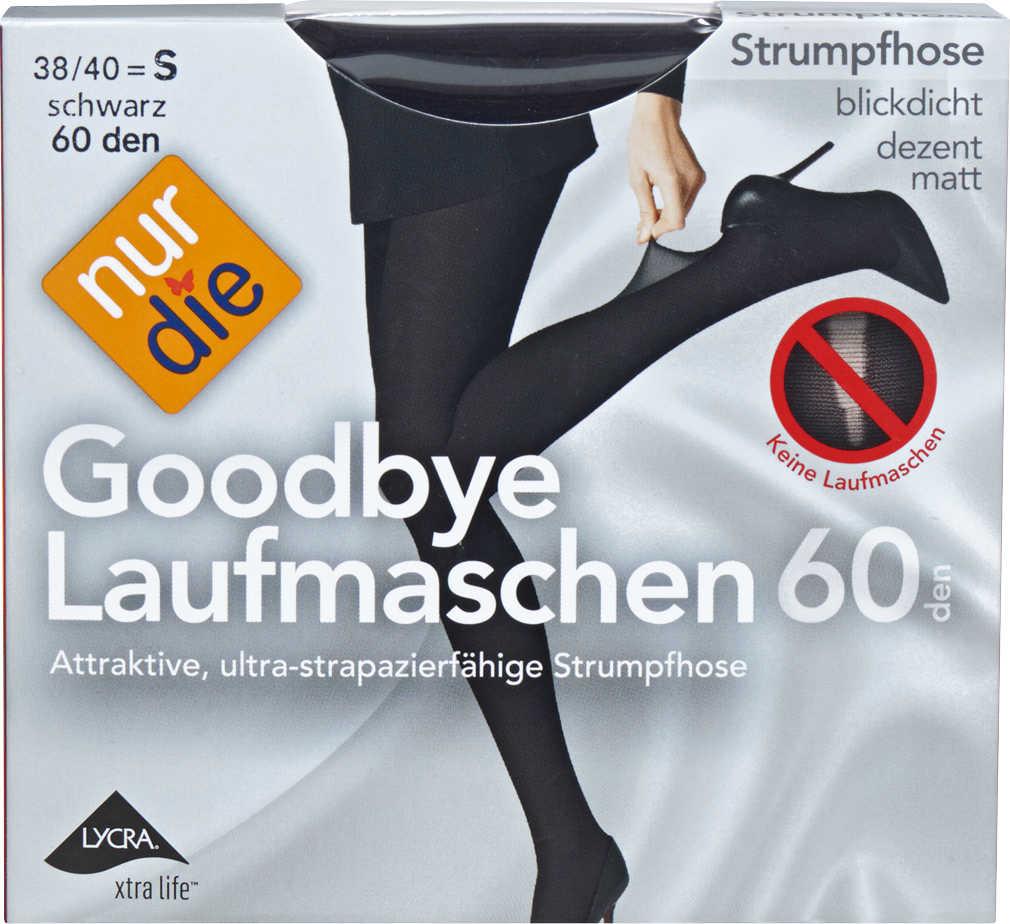 Abbildung des Angebots NUR DIE Damen-Strumpfhose 60 DEN »Goodbye Laufmaschen«